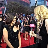 We caught up with  Pretty Little Liars star Lucy Hale at the People's Choice Awards.