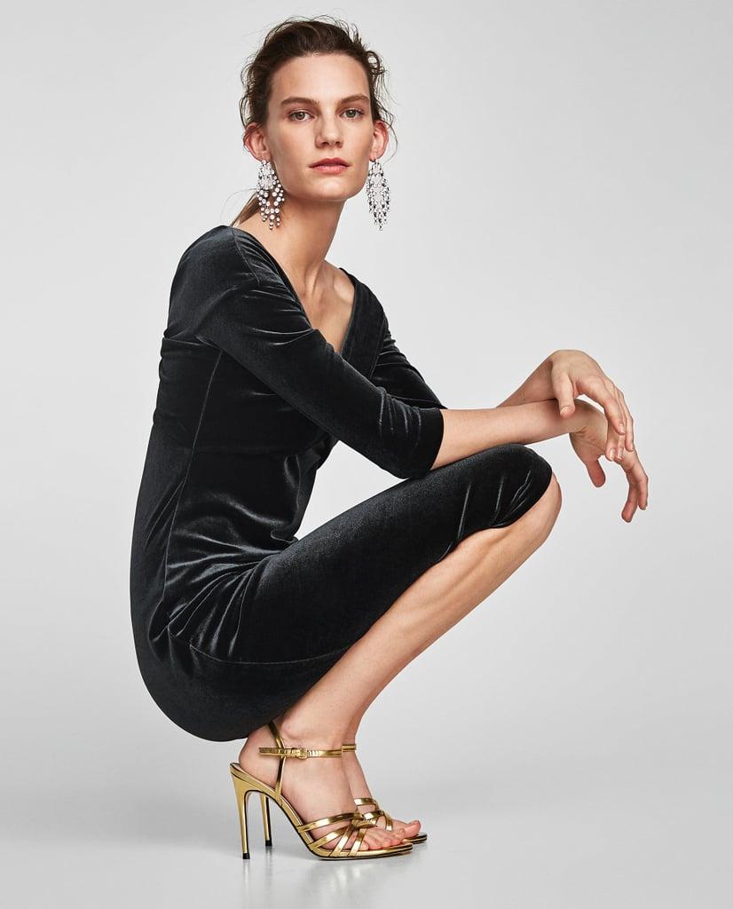 df8de17a929 Zara Velvet Tube Dress