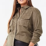 Forever 21 Plus Size Faux Suede Jacket