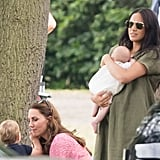 Meghan Markle's Green Dress at Polo Day 2019