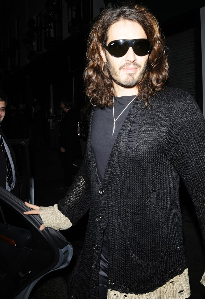13/01/2009 Russell Brand and Noel Gallagher