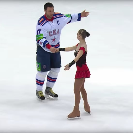 Beauty and the Beast Ice-Skating Video