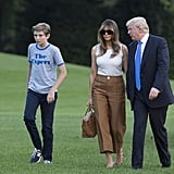 Melania Trump Bally Pants at the White House