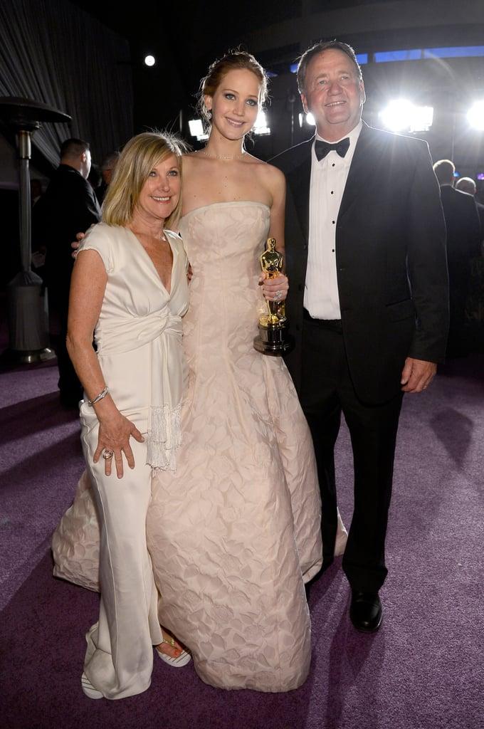 Jennifer Lawrence Gary Lawrence
