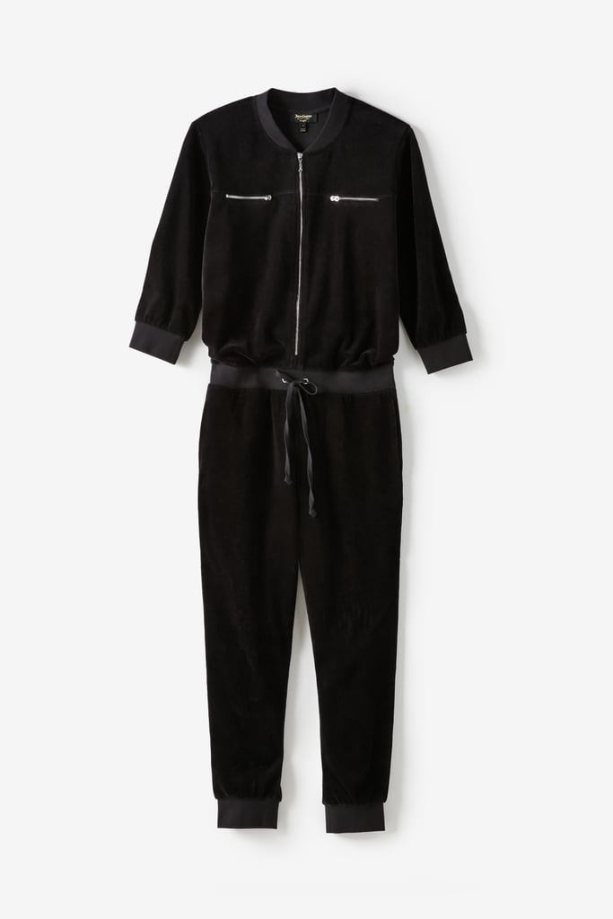 Juicy Couture For UO Velour Coverall Jumpsuit ($199)