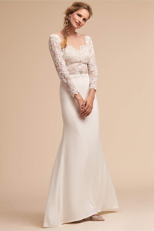 BHLDN Tadashi Shoji Langston Gown | Best BHLDN Wedding Dresses ...