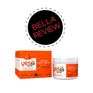 Yes To Carrots Repairing Night Cream Review