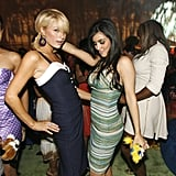 Paris Hilton and Kim Kardashian got down on the dance floor at the T-Mobile Sidekick 3 launch in LA in June 2006.