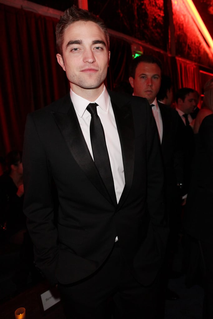 Robert Pattinson joined a Golden Globes after party after presenting at the award show.