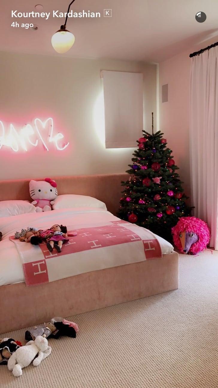Inside Penelope Disick\'s Christmas Bedroom   POPSUGAR Home