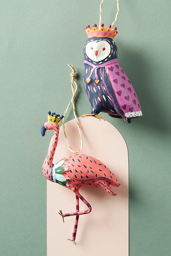 Regal Bird Ornament