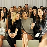 Lana Del Rey, Kate Moss, Alexa Chung, and Rebecca Hall were at the Mulberry Spring/Summer 2013 show during London Fashion Week.