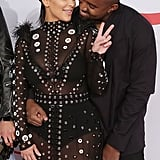 Kim and Kanye could not keep their eyes off each other at the CFDA Awards in June 2015.