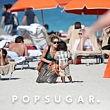 Doutzen Dons a Bikini For an Easter Playdate With Phyllon