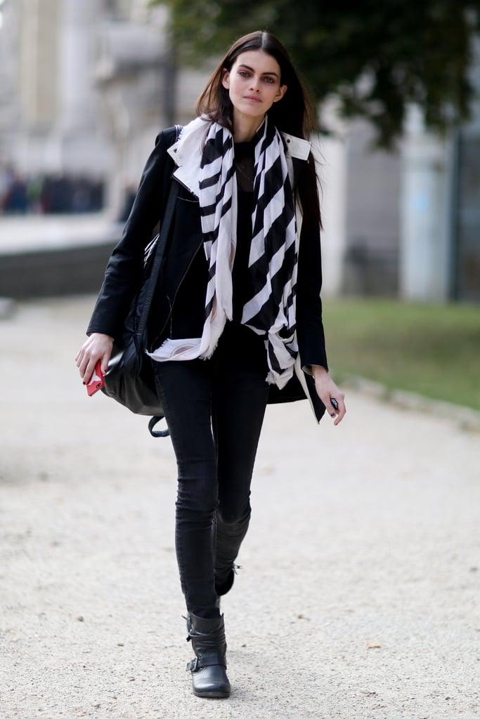 Paris Fashion Week Model Street Style At Fashion Week Spring 2015 Popsugar Fashion Photo 44
