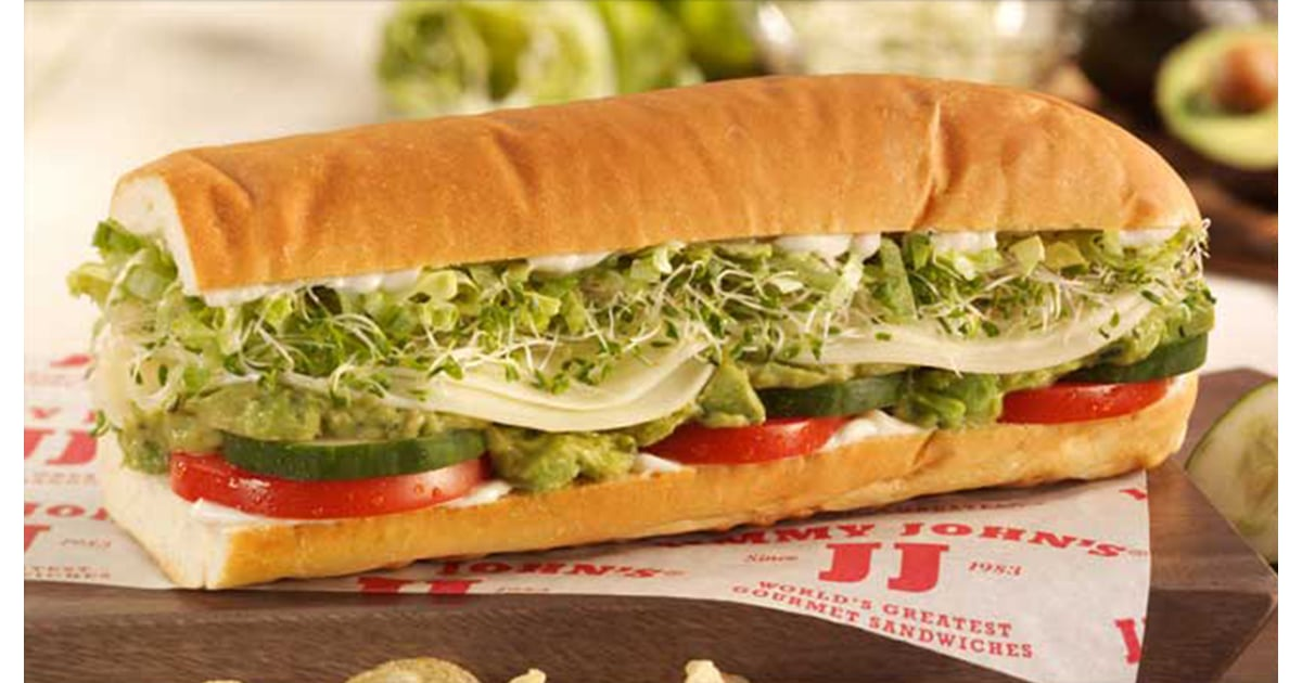 Vegetarian Jimmy John S Food Order on party subs, menu printable, wheat sub, ham sandwich, gift card, signs wall, frenchie sandwich,