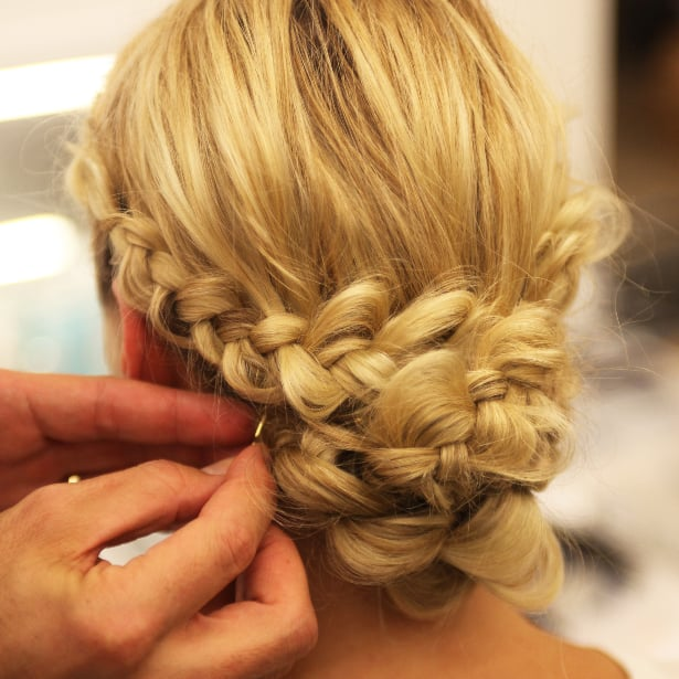 French Braid Wedding Hairstyles: How To Do A Braided Chignon