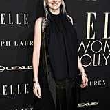 Hunter Schafer's Pink Hair and Makeup at Elle Event