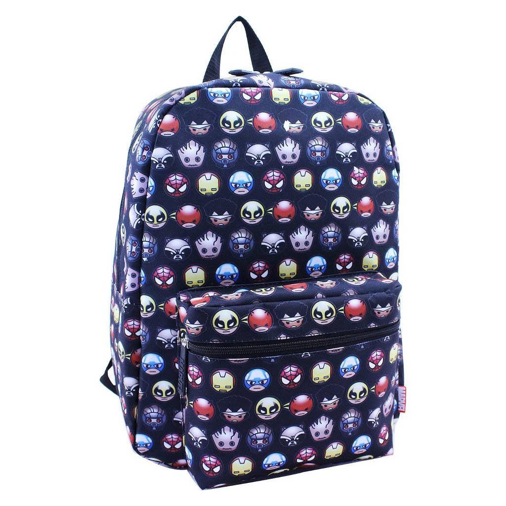 6d28a9c8ae Marvel Kawaii Emoji Backpack