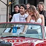 Darren Criss and Mia Swier Wedding Pictures