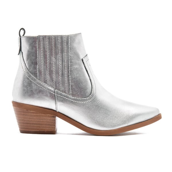 Dune Quiz Leather Heeled Chelsea Boots (£75)