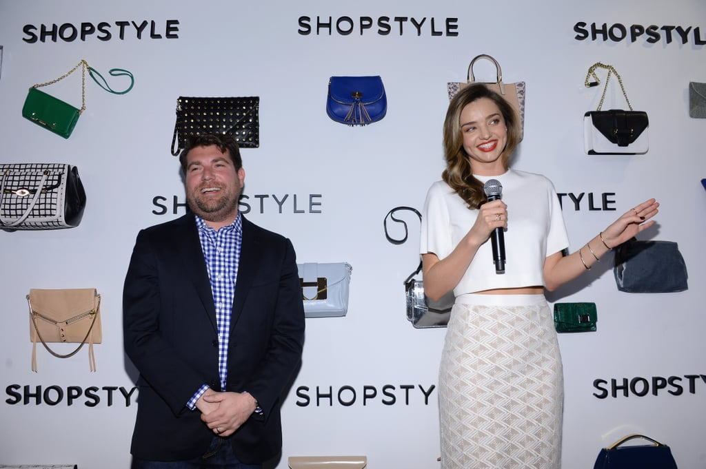Miranda Kerr Steps Out For Our ShopStyle Soiree!