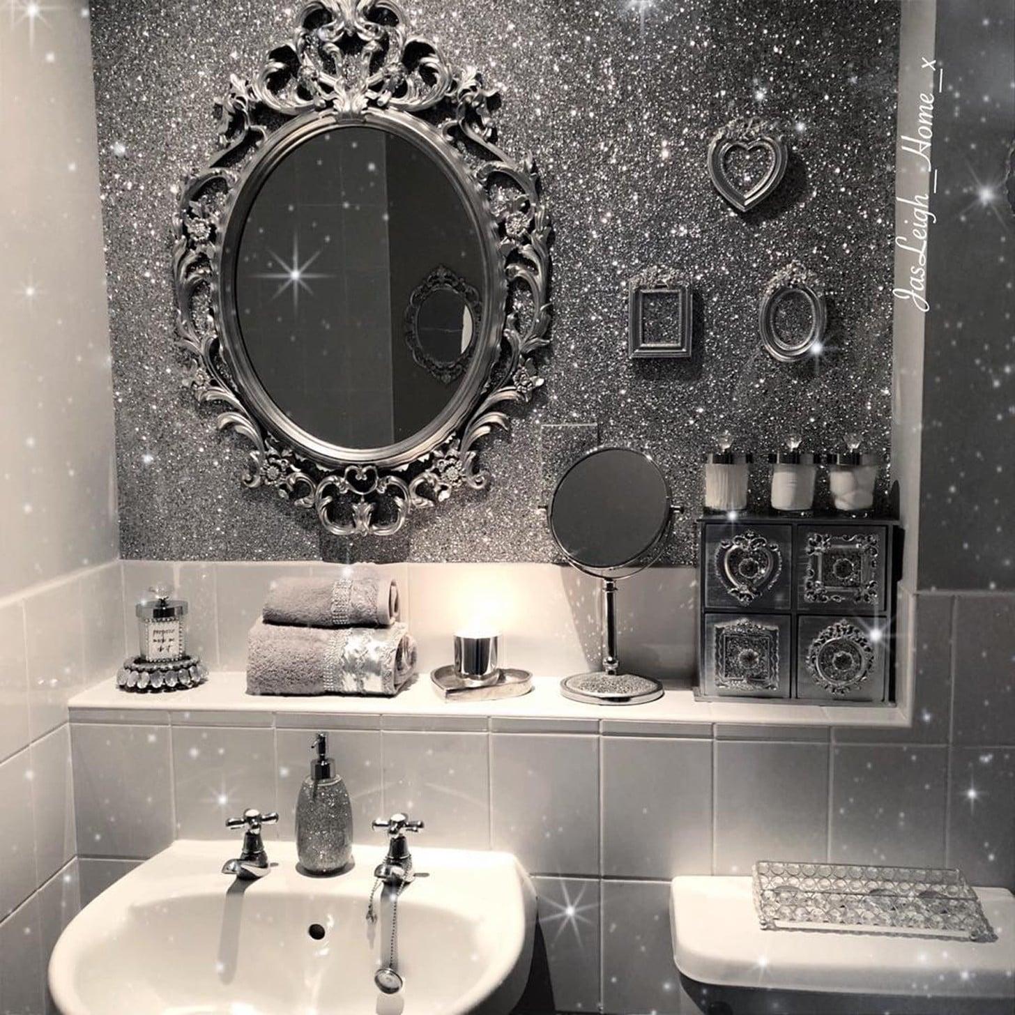 Glitter Paint And Wallpaper Trend Ideas Popsugar News