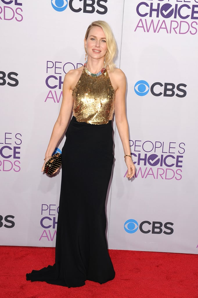 Naomi Watts walked the red carpet.