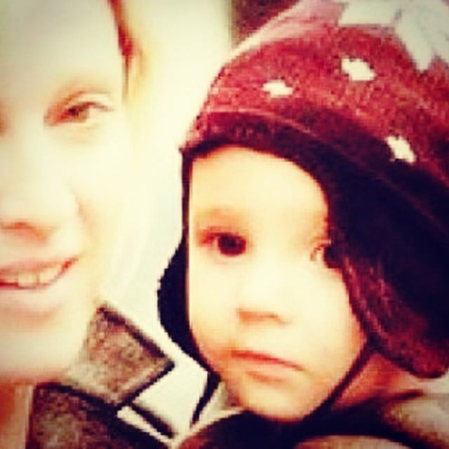 Madonna shared a sweet throwback photo of a baby Rocco Ritchie on her oldest son's birthday. Source: Instagram user madonna