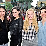 Descendants Cast Hanging Out Pictures