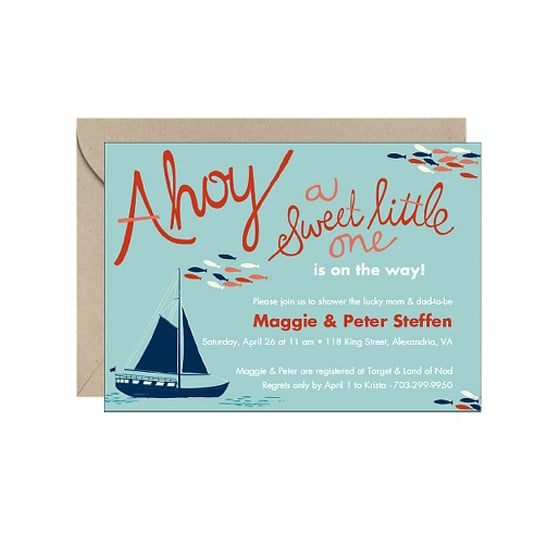 Ahoy! Baby Shower Invitation