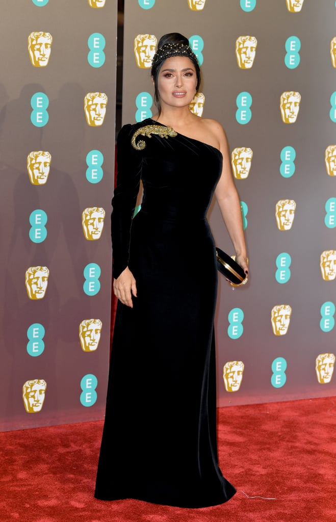 Salma Hayek at the 2019 BAFTA Awards