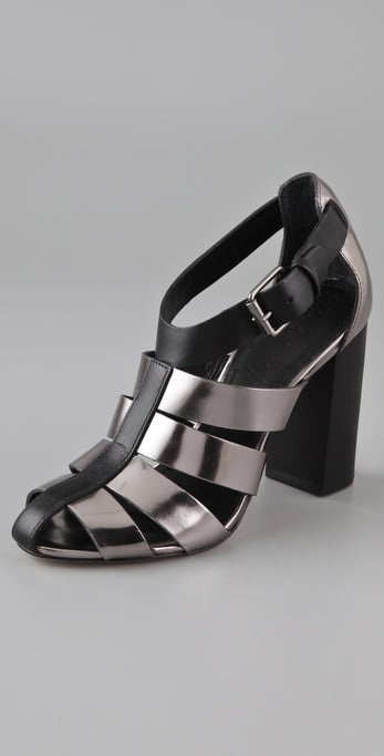 Elizabeth and James Celia Fisherman High Heel Sandals ($350)