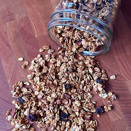 No-Refined-Sugar Low-Fat Granola Recipe