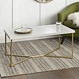WE Furniture Mid Century Modern Coffee Table