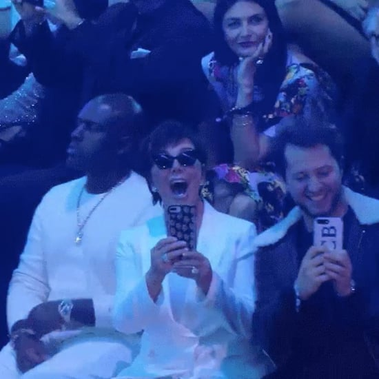 Kris Jenner at the 2018 Victoria's Secret Fashion Show