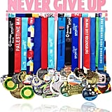 """Never Give Up"" Medal Hanger"