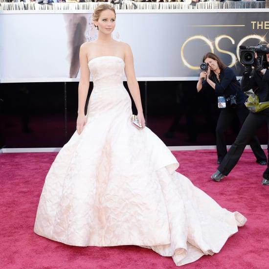 Jennifer Lawrence Oscar Dress 2013 | Pictures | POPSUGAR Fashion