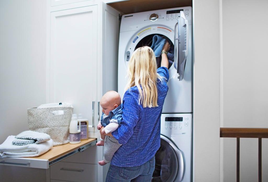 نصائح الغسيل للعائلات الكبيرة