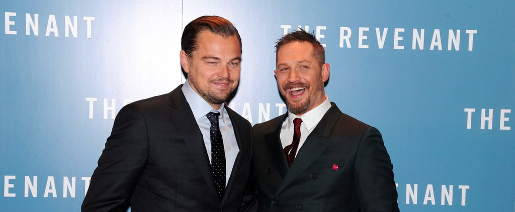 Tom Hardy Will Have a Permanent Reminder of Leonardo DiCaprio After Losing a Bet