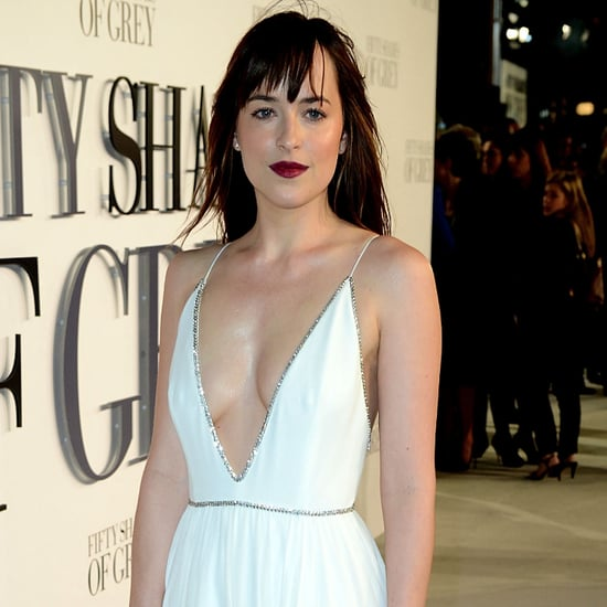 Dakota Johnson's Dress | 50 Shades of Grey UK Premiere