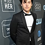 Cole Sprouse at the 2019 Critics' Choice Awards