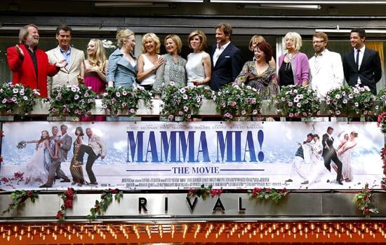 Interview With Meryl Streep, Christine Baranski, Amanda Seyfried, Pierce Brosnan, Colin Firth About Mamma Mia!