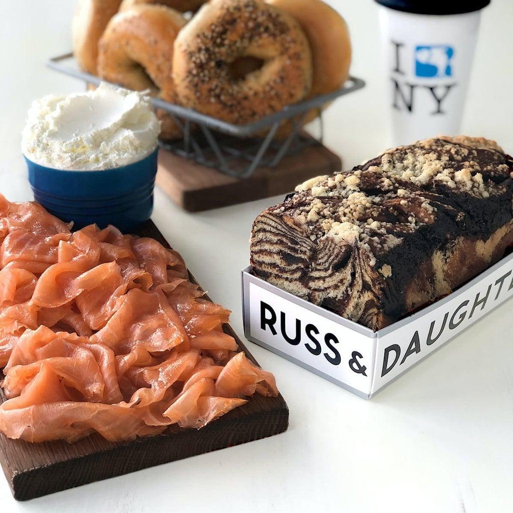 Russ & Daughters New York Brunch