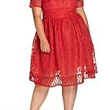 Chi Chi London Crochet Midi Dress