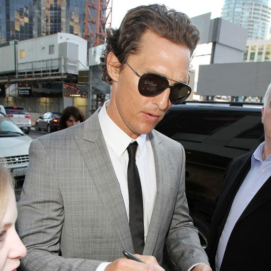 Pictures of Matthew McConaughey in Toronto