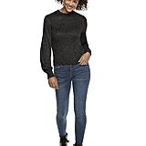 Wear It With: Lurex Mockneck Sweater