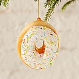 Sprinkle Donut Plush Ornament ($8)