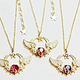 Sailor Moon Necklace - New Lovely Moon Princess ($35)