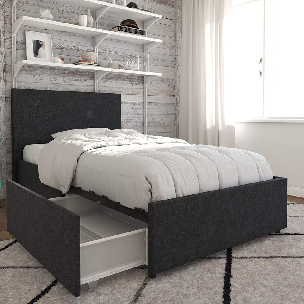 Novogratz Kelly Bed With Storage Best Dorm Furniture Popsugar